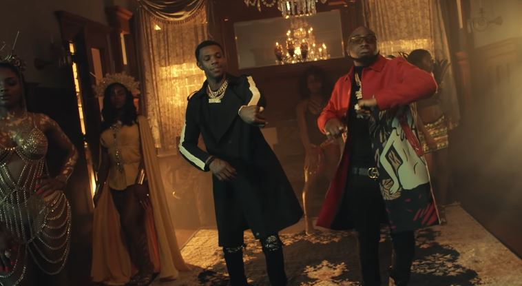 A Boogie with Da Hoodie featuresDavido