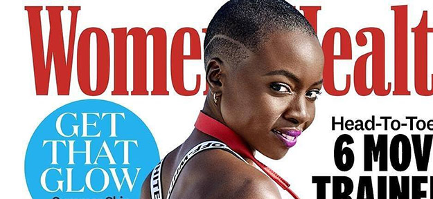 Danai Gurira covers Women's Health Magazine