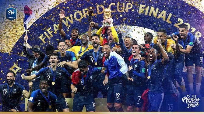 France, Champion of theworld