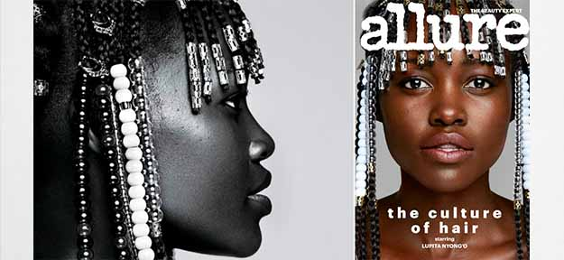 Lupita Nyong'o covers Allure